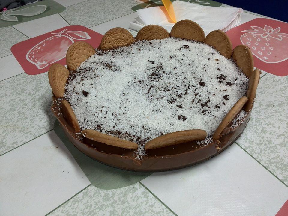 tarta fria de chocholate sin horno