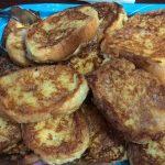 torrijas tradicionales con poco aceite mas sanas