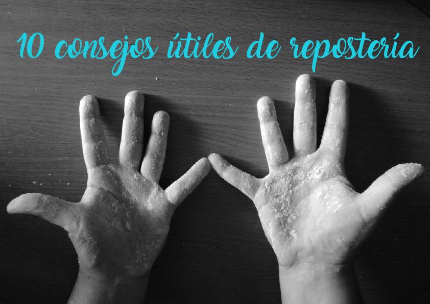 manos con harina