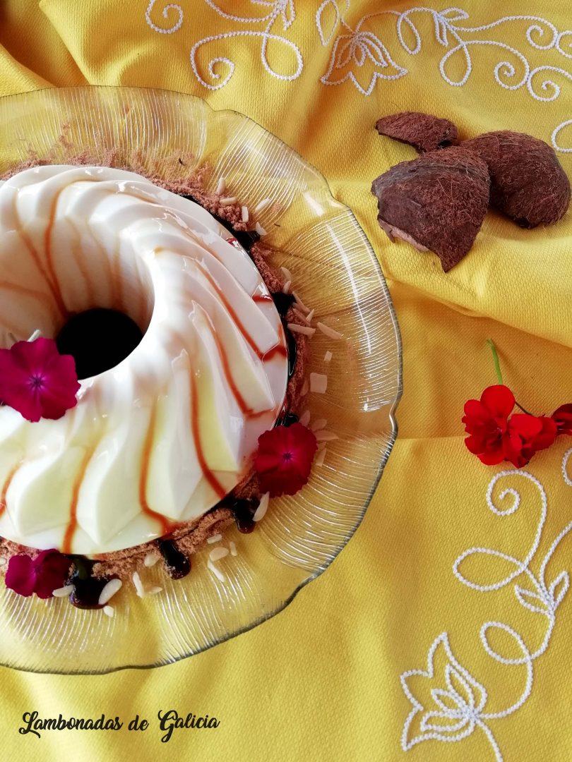 tarta de coco facil con gallega y sin horno