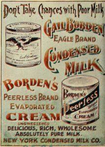 quien invento la leche condensada