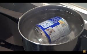 como hacer dulce de leche con leche condensada