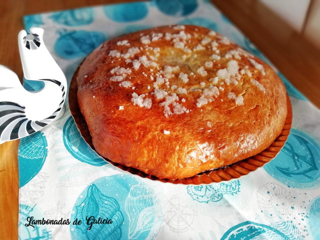 bolla de patrón tradicional gallega para las fiestas