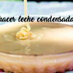 como hacer leche condensada casera
