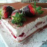 tiramisu de fresa