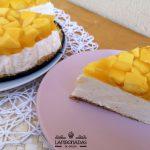 tarta de mango y queso