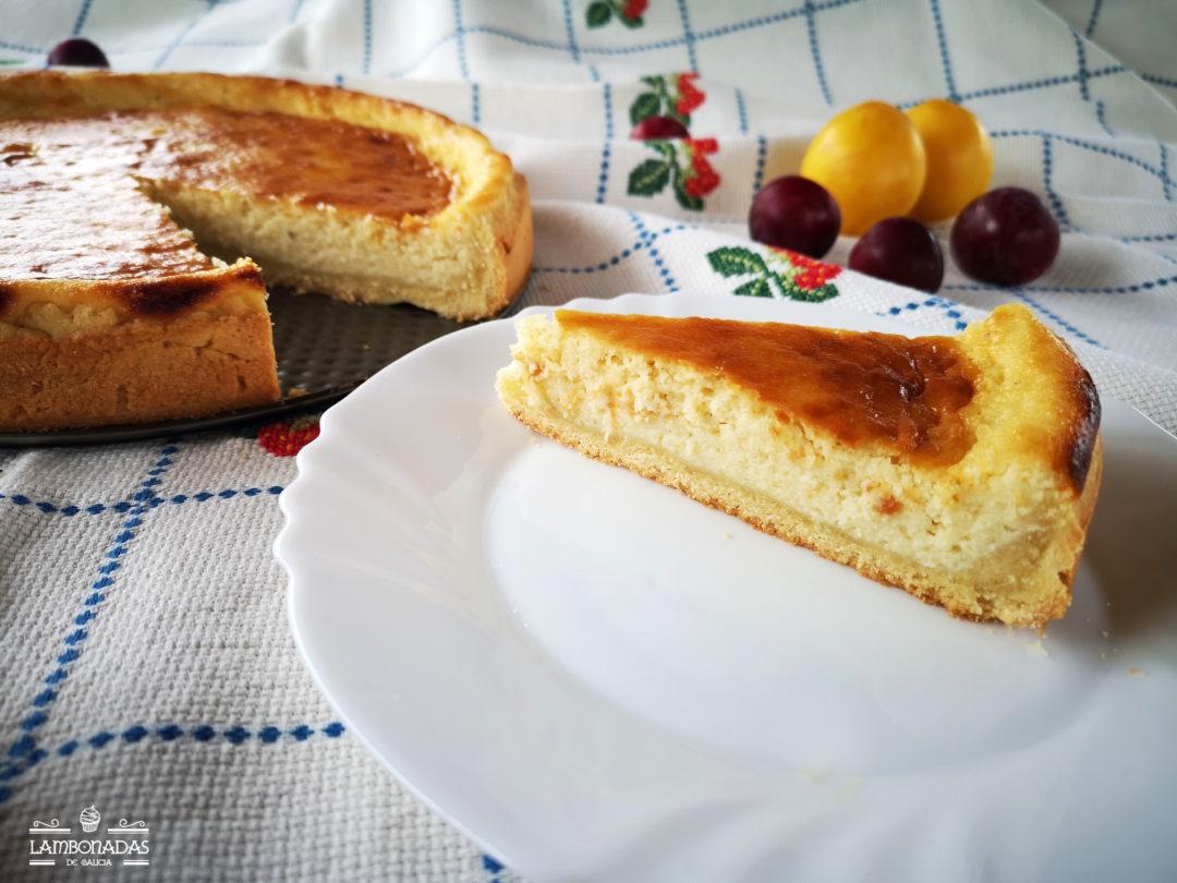 Tarta de requesón gallega