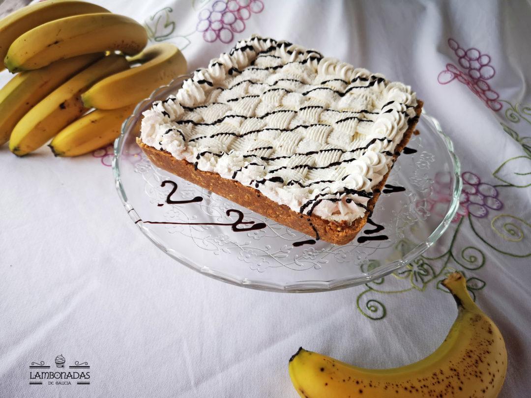 banoffee de plátano