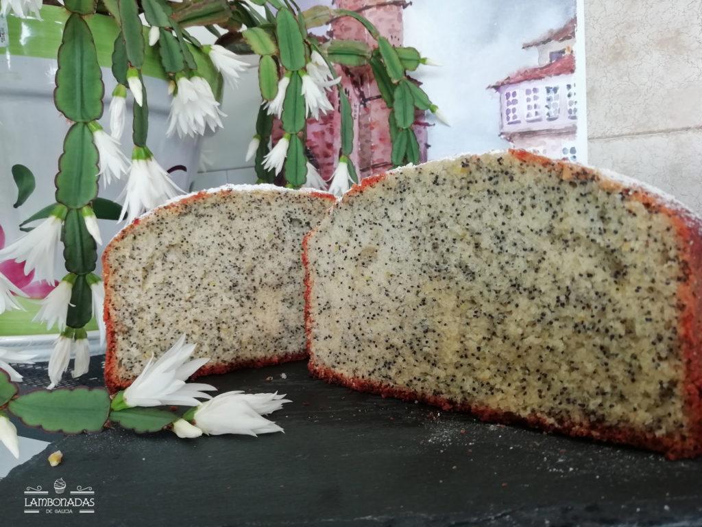 Bizcocho de semillas de amapolas