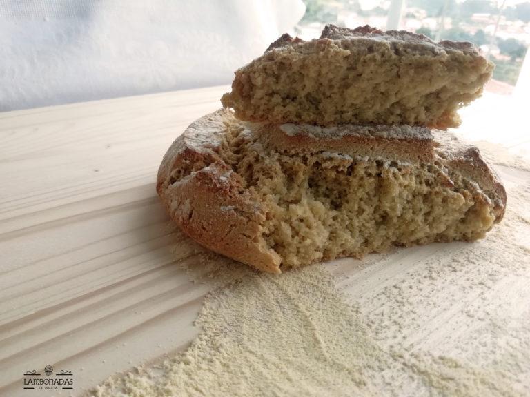 miga pan de maiz
