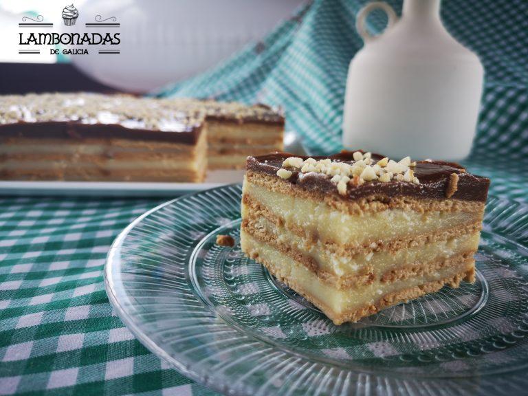 tarta de la abuela casera