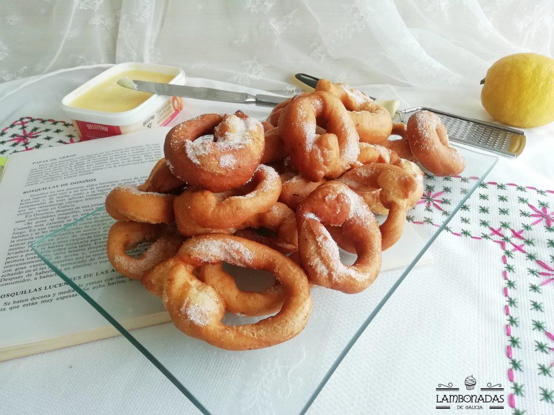 rosquilla de Doniños tradicionales