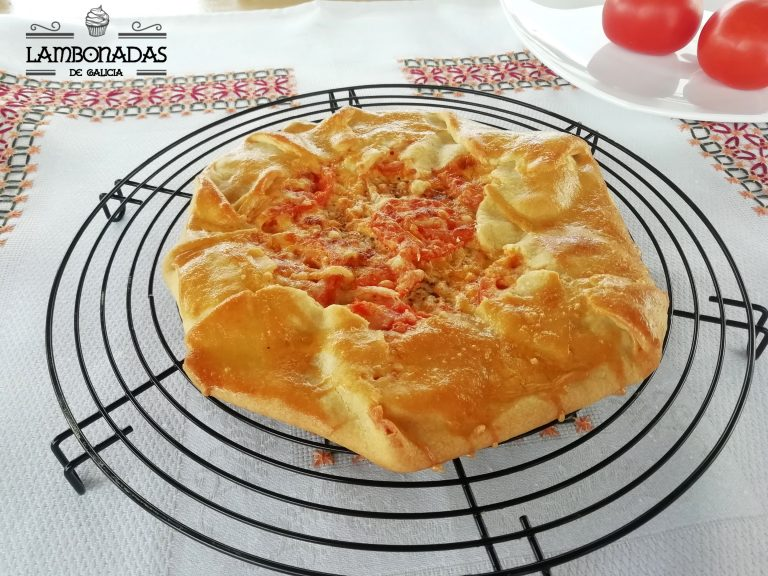 galette salada de tomate y mostaza