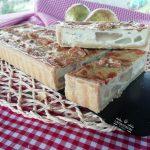 tarta de peras y queso azul