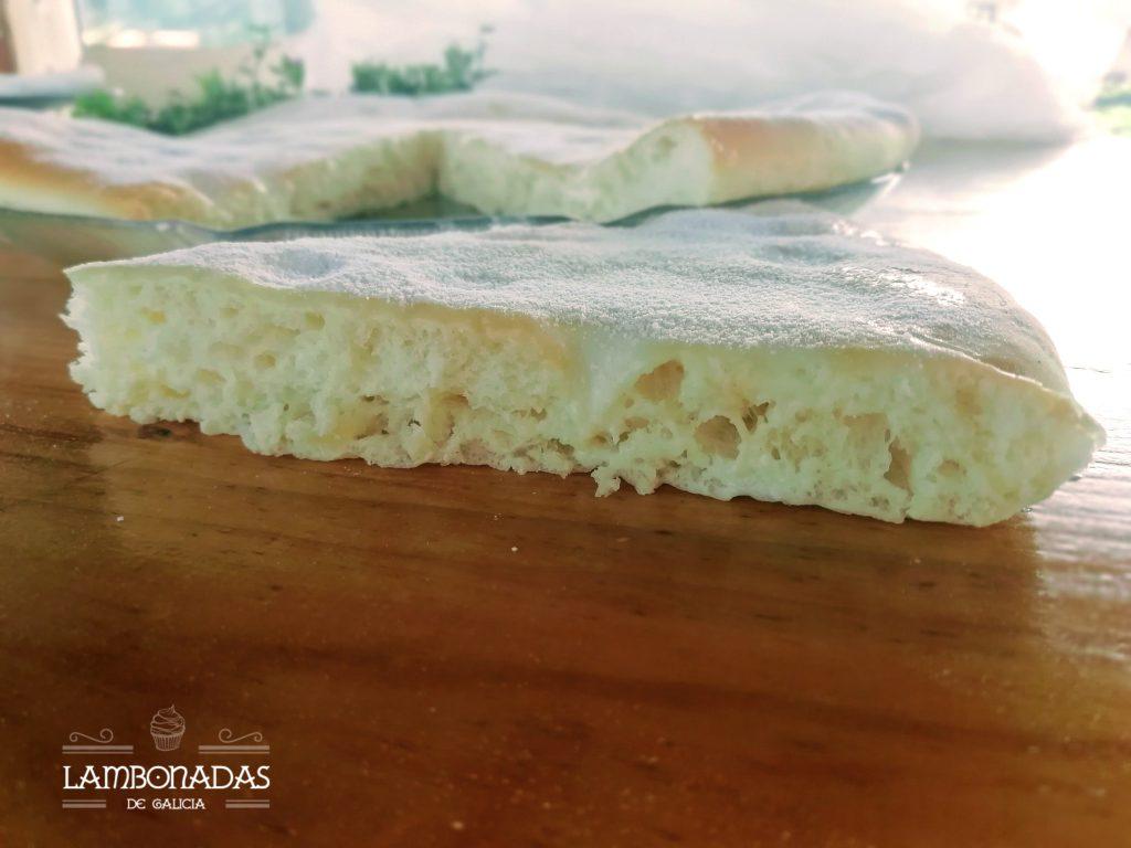Torta de nata gallega