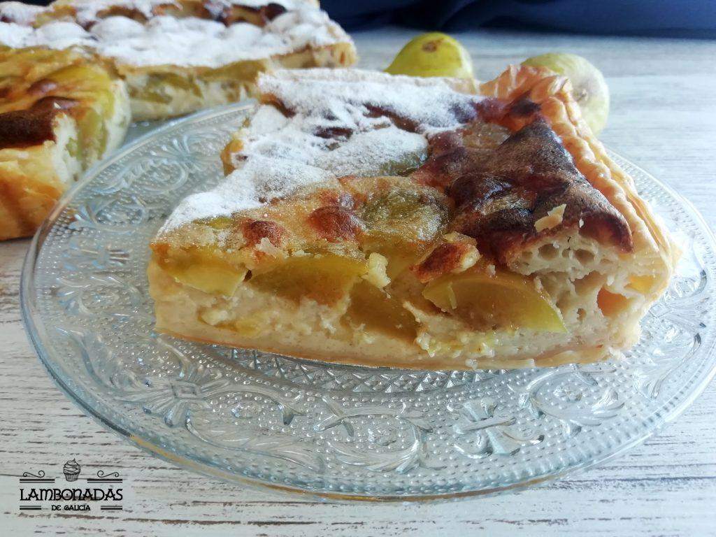 receta tarta de higos