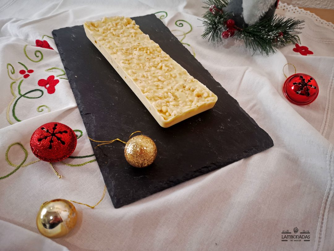 turron suchard casero chocolate blanco