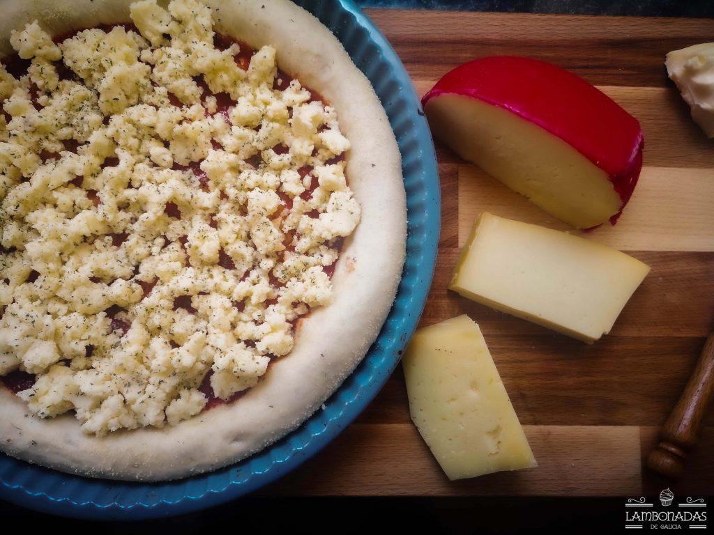 pizza 4 quesos gallegos